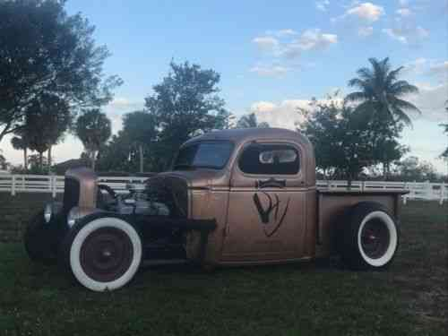 Chevrolet Other Pickups Truck 1946 Chevy Rat Rod Pickup One Owner