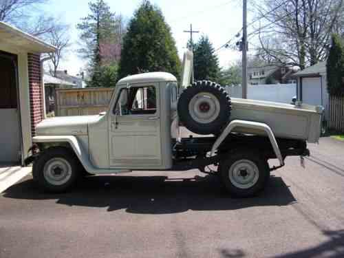 Willys Jeep Truck For Sale >> Willys 1948