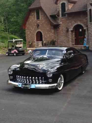 Mercury Coupe Custom Two Door 1950 Mercury Vin One Owner Cars