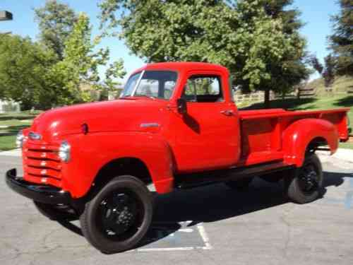 Chevrolet Other Pickups 4x4 1 Ton 1952 | No Reserve Wow: One-Owner Cars For Sale