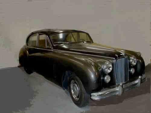 Jaguar Mark Vii 1953   Jaguar With Ford V8 Has Very Few ...