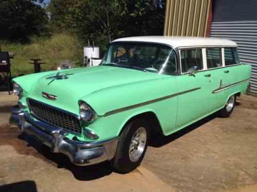 Chevrolet Bel Air 150 210 Wagon 1955
