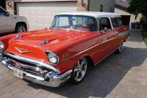 Chevrolet nomad base hardtop 2 door 1957 up for one for 1957 dodge 2 door hardtop
