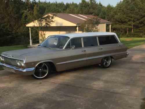 Chevrolet Bel Air  150  210 Belair Wagon 1963