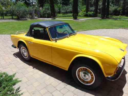 Triumph TR4 (1964)