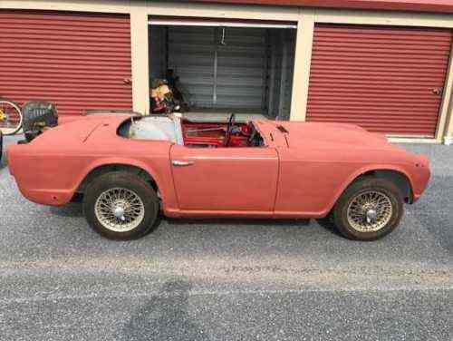 Triumph Other Irs 1966 Triumph Tr4 Irs I Got The Car That One