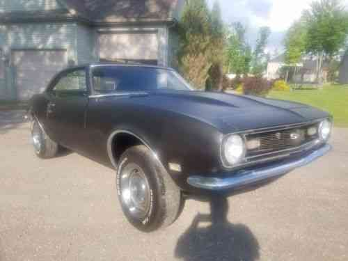 1968 Camaro Project For Sale >> Chevrolet Camaro 2 Door 1968 Excellent Project Car Very