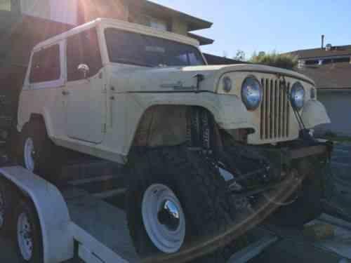 Jeep Commando 1969 | Jeep Commando No Engine Transmission Or