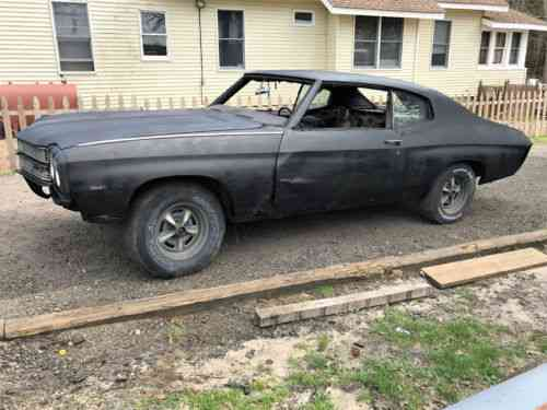 Chevrolet Chevelle Chevelle Project Nr Winner Takes It 1970 One