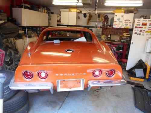 Chevrolet Corvette Stingray 1972 454 Automatic Power One Owner