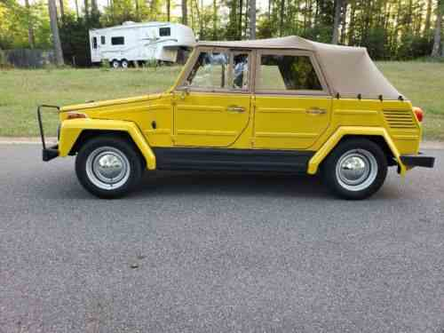 Volkswagen Thing For Sale >> Volkswagen Thing 1973
