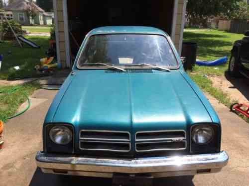 chevrolet chevette 1977 this is an excellent vehicle for one owner cars for sale chevrolet chevette 1977