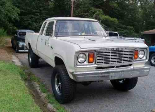 Dodge Power Wagon W100 1978 This Auction Is A No Reserve One
