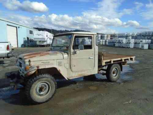 Toyota Land Cruiser Ute Pickup (1978)