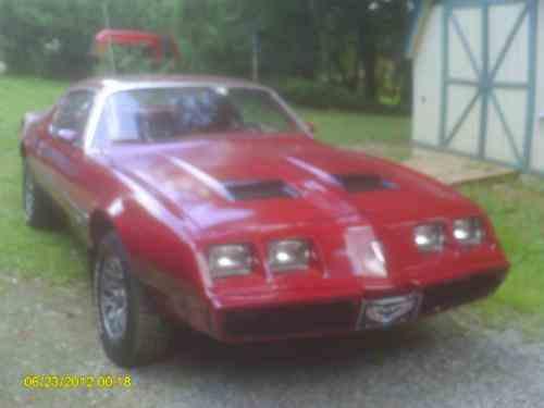 Pontiac Firebird basic (1980)