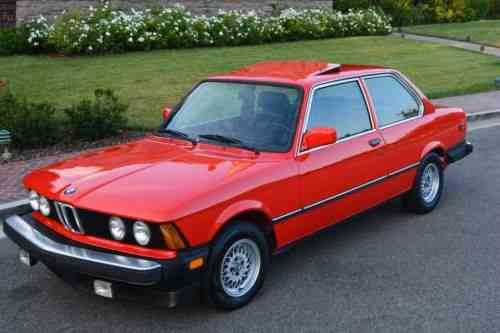 Bmw 3-series E21 320is 1982 | Bmw E21 320is 5 Speed: One-Owner Cars ...