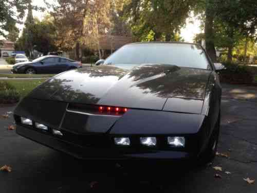 Knight Rider Car For Sale >> Pontiac Firebird 1982 Knight Rider Fans Here S Your