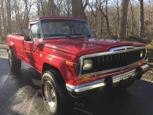 Jeep J20 For Sale >> Jeep Cj J20 1983