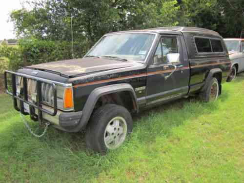 Jeep Comanche 1986 This Is Amc Jeep Comanche Pickup With A One