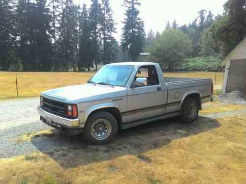 dodge dakota chrome 1987 howdy y all a nice one owner. Black Bedroom Furniture Sets. Home Design Ideas