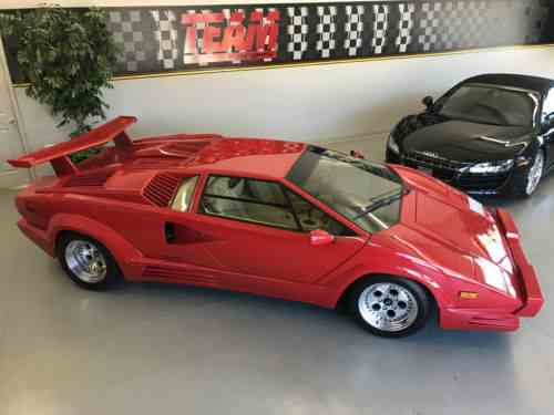Lamborghini Countach 25th Anniversary Coupe 2 Door 1989 One Owner