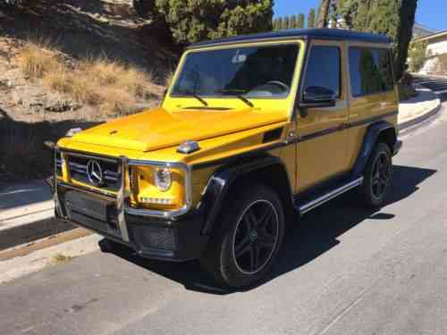 Mercedes Benz G Class 2 Door Amg 1990 You Are Looking At One