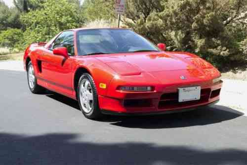 acura nsx base coupe 2 door 1992 acura nsx coupe red one owner cars for sale. Black Bedroom Furniture Sets. Home Design Ideas