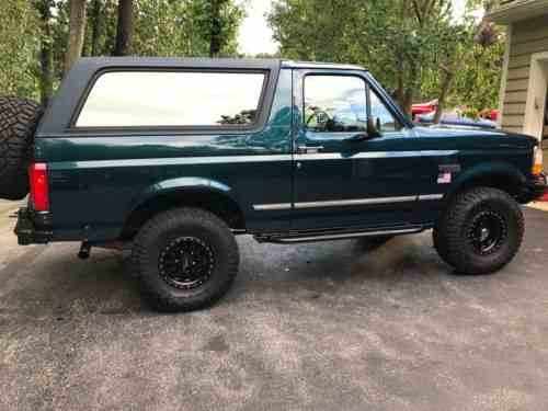 ford bronco xlt 1994 bronco start and exhaust note youtube one owner cars for sale ford bronco xlt 1994