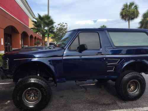 ford bronco xlt 1994 ford bronco xlt custom 4x4 do you want one owner cars for sale ford bronco xlt 1994