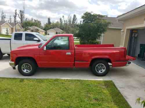 Gmc Sierra 1500 1994 Gmc Step Side Pickup Frame Off Repair One Owner Cars For Sale