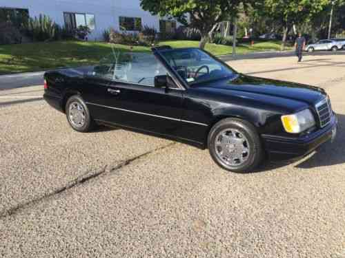 mercedes benz e class e320 cabriolet 1994 top of the line one owner cars for sale mercedes benz e class e320 cabriolet 1994