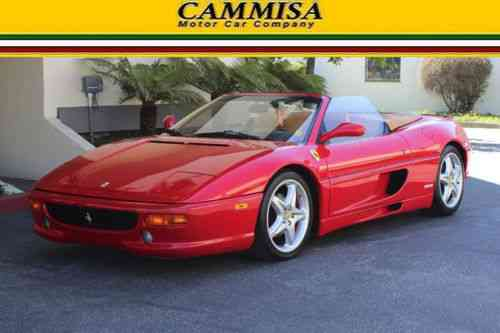 ferrari 355 spider 1995 cammisa motor car company one. Black Bedroom Furniture Sets. Home Design Ideas