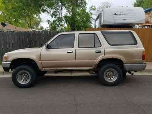 toyota 4runner 1995 great condition one of the lowest one owner cars for sale 1car one