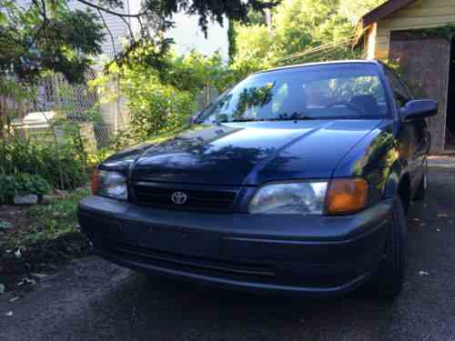toyota tercel 1995 perfect vehicle for a stick shift student one owner cars for sale toyota tercel 1995