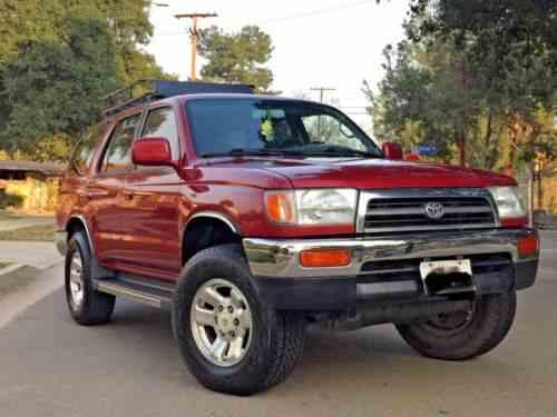toyota 4runner sr5 4x4 1997 sr5 4x4 v6 3 4l registration one owner cars for sale toyota 4runner sr5 4x4 1997