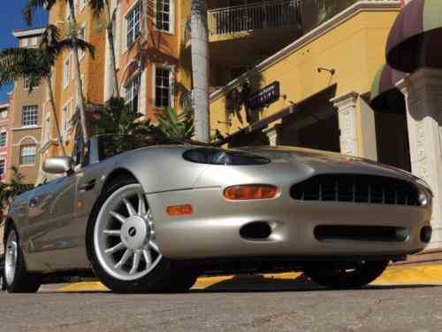 Aston Martin Db Aston Martin Db Volante For Sale In One - 1998 aston martin db7