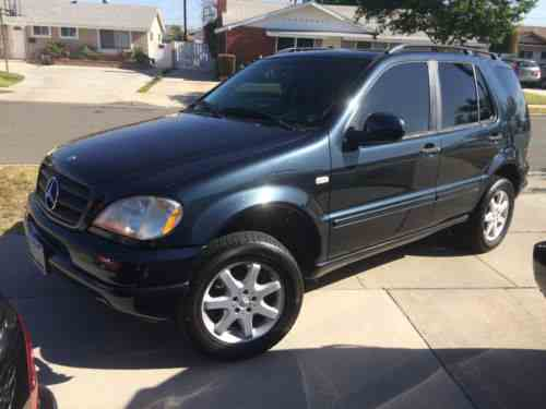 Mercedes Benz M Class Suv 1999 Mercedes Ml430 188k One