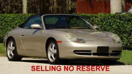 Porsche 911 Carrera Cabriolet 1999 New Page 3 Porsche 911 One Owner Cars For Sale