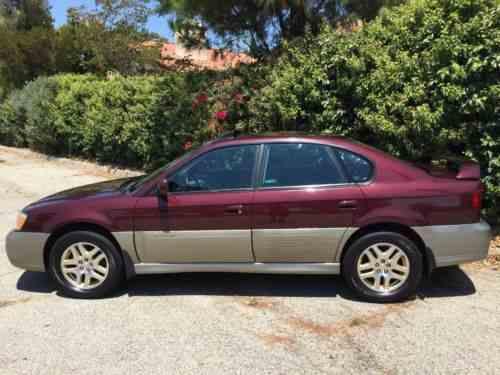 2000 subaru outback limited sedan