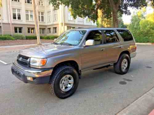 toyota 4runner sr5 2002 super clean 4 runner don t one owner cars for sale. Black Bedroom Furniture Sets. Home Design Ideas