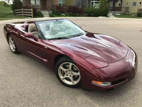chevrolet corvette anniversary edition 2003 most one owner cars for sale. Black Bedroom Furniture Sets. Home Design Ideas