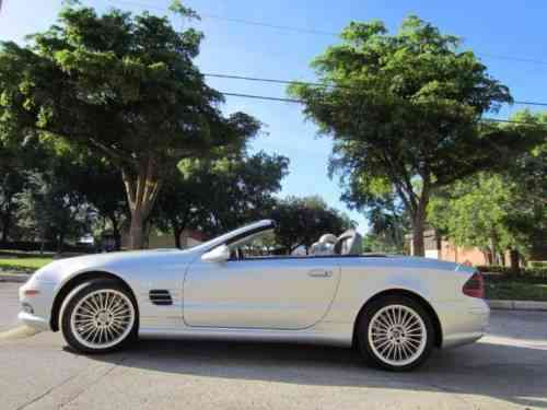 Mercedes benz sl class sl55 amg 2003 this low 63 414 for 2003 mercedes benz sl class