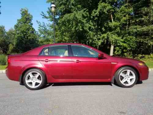 Acura Tl Very Rare Redondo Red Pearl Speed Manual One - Acura tl 6 speed for sale