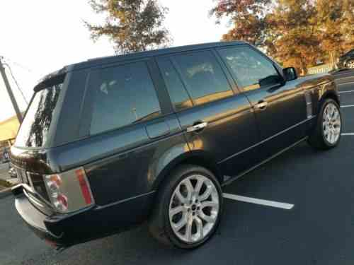 2005 Range Rover For Sale >> Land Rover Range Rover Special Edition 09 02 05 2005