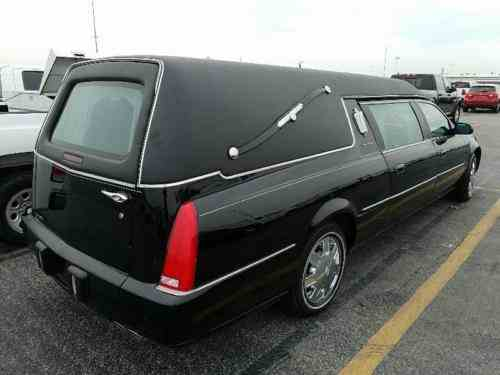 Cadillac Dts Hearse 2006 | Cadillac Dts Funeral Hearse Only: One-Owner Cars  For Sale
