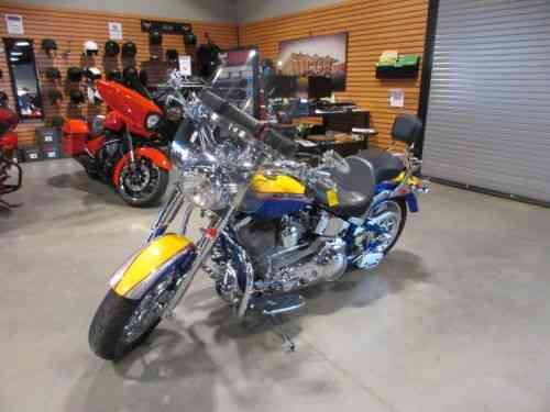2006 Harley Davidson Softail Cvo Screamin Eagle Fat Boy 4625 Miles 103ci