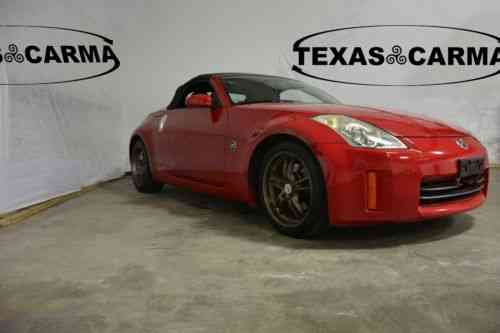 Nissan 350z Enthusiast Convertible 2 Door 2006 This One Owner