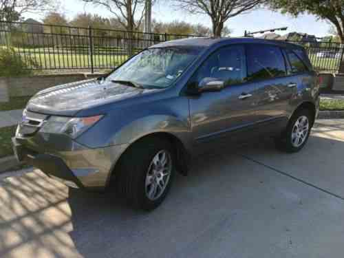 Acura Mdx Clean Title Good Condition New Tires Seats One - Acura mdx tires