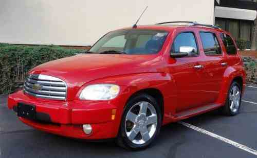 Chevrolet Hhr Lt 2008 Chevy Hhr Lt Red One Owner Nice L K One