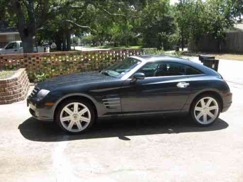 chrysler crossfire limited 2008 chrysler crossfire one owner cars for sale. Black Bedroom Furniture Sets. Home Design Ideas